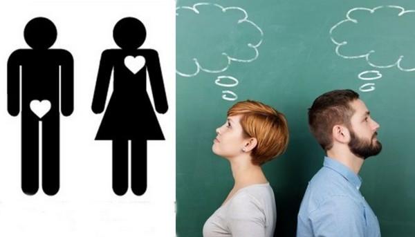 """Đàn ông liên tưởng về """"chuyện ấy"""" nhiều hơn phụ nữ"""