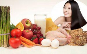 Bổ sung thực phẩm cần thiết cho mái tóc của bạn